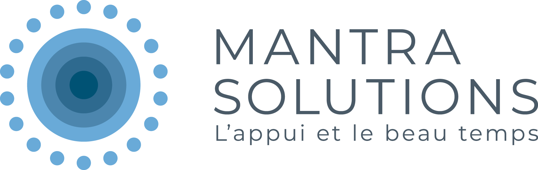Mantra Solutions Logo CMYK transition